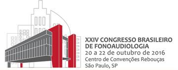 Logo do XXIV XXIV Congresso Brasileiro de Fonoaudiologia - Avanços no Diagnóstico e Intervenção em Fonoaudiologia